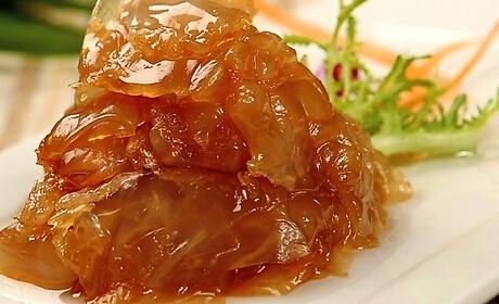 家常菜糖醋海蜇头的做法