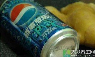 这样喝可乐可以治感冒