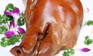 猪头肉的卤制方法