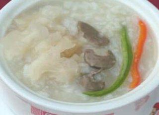 玛咖苁蓉羊肾粥的具体做法