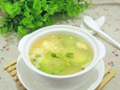 西葫芦蛋花汤
