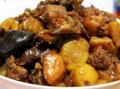 黑胡椒冬菇焖鸡