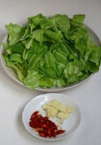 手撕圆白菜的做法