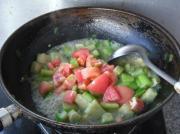 番茄丝瓜丁的做法