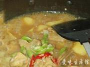 咖喱土豆炖排骨的做法