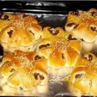 红豆沙面包的做法