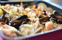 简易版海鲜焗饭的做法