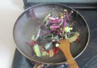 清炒红菜薹的做法