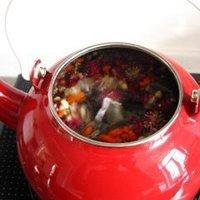 枸杞蜜枣花茶的做法