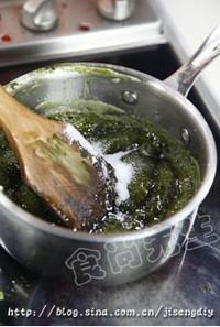 绿茶糖的做法