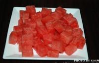 西瓜冰沙的做法