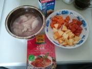 泰国红咖喱鸡的做法