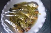 咸菜卤蒸梅童鱼的做法