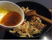 素炒鱼香肉丝的做法