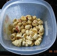 广式花生蛋黄粽的做法