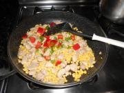 玉米鸡丁的做法