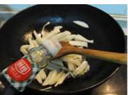 素炒藕条的做法