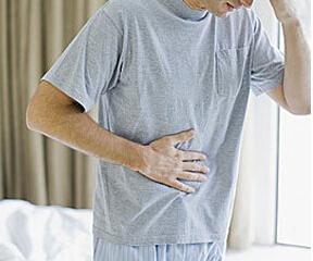 腹部有局部或广泛触痛、反跳痛